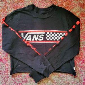Vans Long Sleeve Crop Top